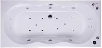 Гидромассажная ванна Akrilan Rio TIGUANA 170x80