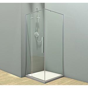 Душевой угол Veconi RV-073 90x80x195 стекло прозрачное профиль хром (RV073-8090-01-C4)