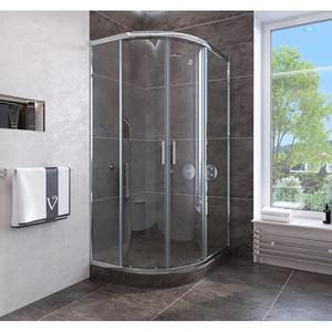 Душевой угол Veconi RV-107 90x90x190 стекло прозрачное профиль хром (RV107-90-01-C4)