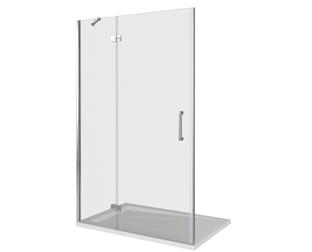 Душевая дверь Good Door Saturn WTW-140-C-CH-L, цвет профиля хром, цвет стекла прозрачное, 140x185