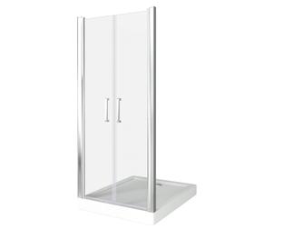 Душевая дверь Good Door Pandora SD-100-C-CH, цвет профиля хром, цвет стекла прозрачное, 100x185