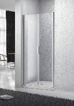 Душевая дверь Belbagno SELA-B-2-60-C-Cr стекло прозрачное
