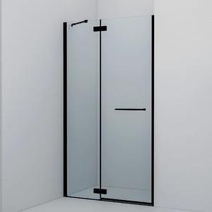 Душевая дверь Iddis Slide 110x195 стекло прозрачное профиль черный (SLI6BH1i69)