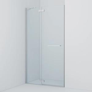 Душевая дверь Iddis Slide 110x195 стекло прозрачное профиль хром (SLI6CH1i69)