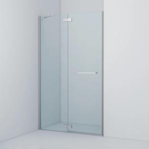 Душевая дверь Iddis Slide 120x195 стекло прозрачное профиль хром (SLI6CH1i69)