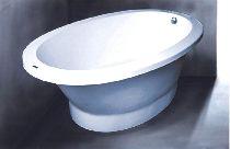 Мраморная ванна Vispool SOLARE