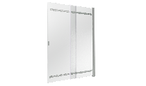 Шторка для ванны Good Door Screen SR-100-C-CH 100х140 см