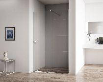 Душевая дверь Cezares STREAM-BF-1-100-C-Cr стекло прозрачное, профиль хром