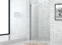 Душевая дверь Cezares STYLUS-M-BF-1-120-C-Cr стекло прозрачное, профиль хром