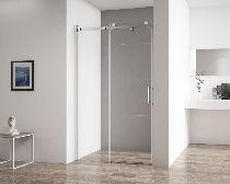 Душевая дверь Cezares STYLUS-SOFT-BF-1-100-C-Cr стекло прозрачное, профиль хром