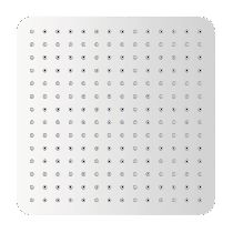 Верхний душ Gllon SUB08CP