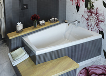 Акриловая ванна Vayer Trinity 160x120 LR