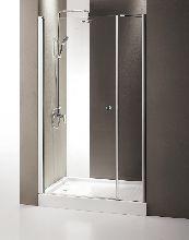 Душевая дверь Cezares TRIUMPH-B-11-100+70-C-Cr-L стекло прозрачное, профиль хром