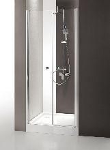 Душевая дверь Cezares TRIUMPH-B-2-160-C-Cr стекло прозрачное, профиль хром