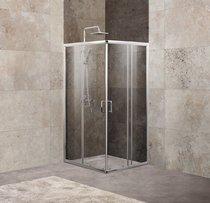Душевой уголок Belbagno UNIQUE-A-2-85/100-C-Cr (850-1000)x(850-1000)x1900 стекло прозрачное