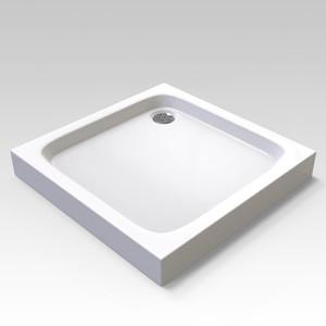 Veconi Tezeo TZ02 80х80 Душевой поддон, квадрат