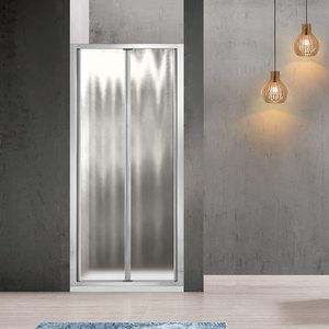 Душевая дверь Vincea Garda VDB-1G 90x190 стекло шиншилла профиль хром (VDB-1G900CH)