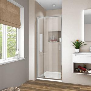 Душевая дверь Vincea VDP-1I 70x190 стекло прозрачное профиль хром (VDP-1I7080CL)