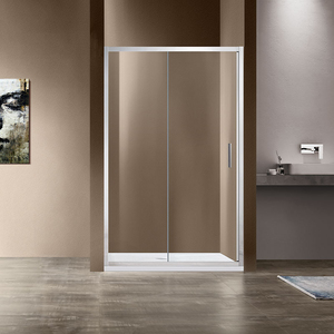 Душевая дверь Vincea VDS-1G 100x190 стекло прозрачное профиль хром (VDS-1G100CL)