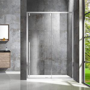 Душевая дверь Vincea VDS-1L 130x195 стекло прозрачное профиль хром (VDS-1L130CL-1)