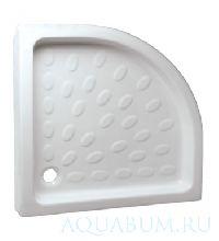 Поддон Vidima керамика 80 х 80 (полукруг)