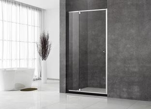 Душевая дверь Veconi VN-32 80x195 стекло прозрачное профиль хром (VN32-80-01-C5)