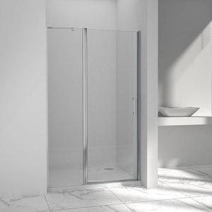 Душевая дверь Vincea VPP-1O 120x190 стекло прозрачное профиль хром (VPP-1O120CL)