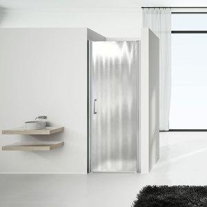 Душевая дверь Vincea VPP-1O 70x190 стекло шиншилла профиль хром (VPP-1O700CH-L/R)