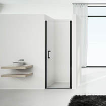 Душевая дверь Vincea VPP-1O 90x190 стекло прозрачное профиль черный (VPP-1O800CLB)
