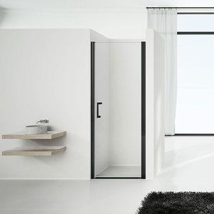 Душевая дверь Vincea VPP-1O 80x190 стекло прозрачное профиль черный (VPP-1O800CLB)