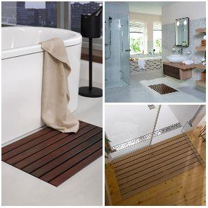 Деревянные решетки ACO Walk-In для ванной комнаты