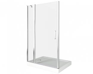 Душевая дверь Good Door Pandora WTW-140-C-CH, цвет профиля хром, цвет стекла прозрачное, 140x185
