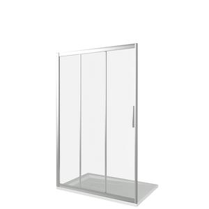 Душевая дверь Good Door Orion WTW-120-G-CH, цвет профиля хром, цвет стекла грэйп, 120x185