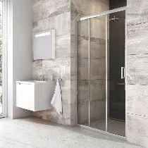 Душевая дверь Ravak Blix BLDZ2 80 см прозрачное хром
