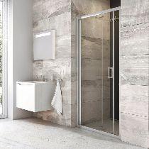 Душевая дверь Ravak Blix BLDZ2 90 см прозрачное хром