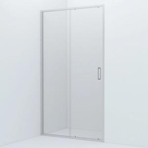 Душевая дверь Iddis Zodiac 110x195 стекло прозрачное профиль хром (ZOD6CS1i69)