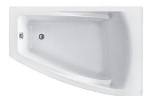 Акриловая ванна Roca Hall Angular 150х100 ZRU9302864