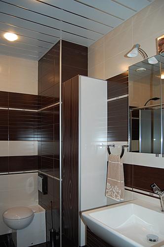 Дизайн маленькой ванной комнаты: 1 фото, идеи