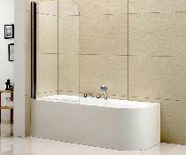 Шторка на ванну Cezares Eco V-1